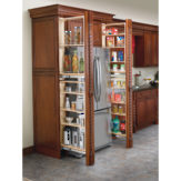 Tall Filler Organizer with Adjustable Shelves