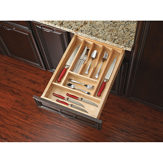 Trimmable Wood Cutlery Tray