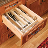 Trimmable Wood Utility Tray