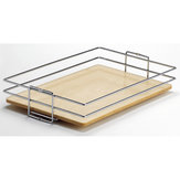 Trays for Center Mounted Pantry Pull-Out